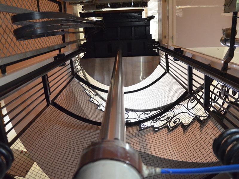 ویرایش ستون ویرایش سربرگ انواع آسانسور بر اساس نوع حرکت